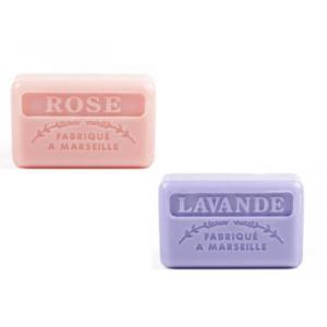 rose en lavendel franse zeep