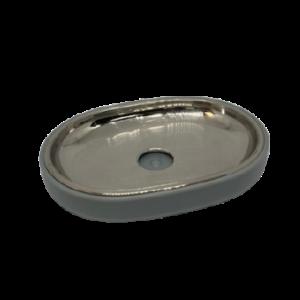 rvs zeephouder grijs