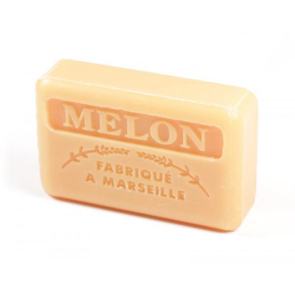 zeep met meloen geur